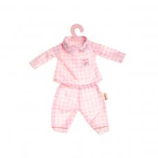Roupa Boneca Metoo - Pijama Rosa - com cabide