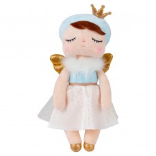 Boneca Metoo Angela Angel Azul - 33cm - Bup Baby