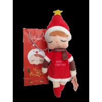 Boneca Metoo Angela Star - 33cm - com sacola especial de Natal
