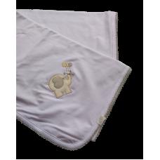 Manta Elefante Cinza - VagaLume Baby