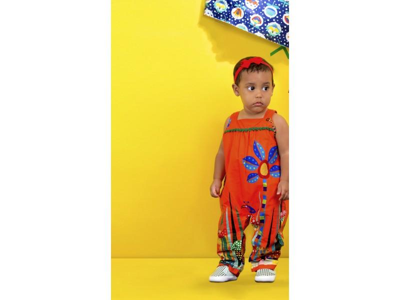 Jumper Baby Bichos - Laranja - Precoce