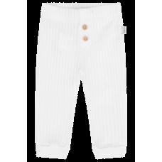 Calça Malha Canelada - Off White - LucBoo