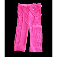 Calça Tricot Mary - Pink - Mini Lady
