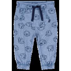 Calça Suedine Canelado - Dogs Azul Jeans - LucBoo