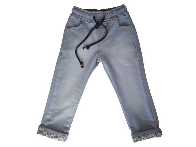 Calça Malha Denim - Jeans Claro - LucBoo