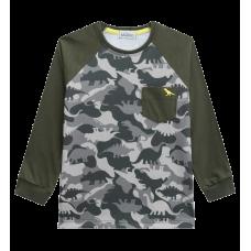 Camiseta Manga Longa Dino - LucBoo