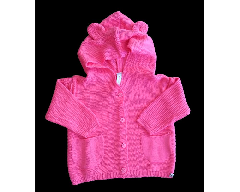 Cardigan Ellen Baby - Pink - Mini Lady