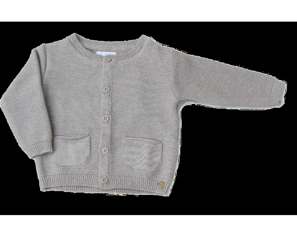 Cardigan Murilo Baby Cinza - Mini Lord