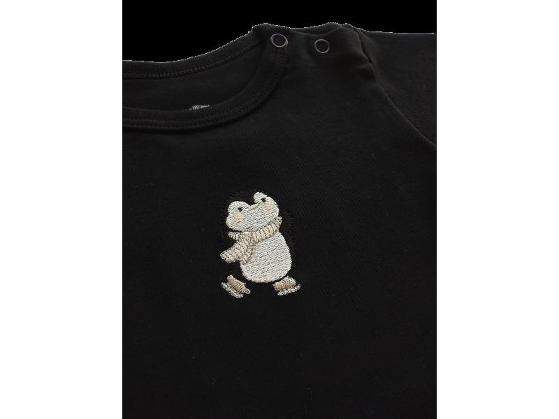 Conjunto Body e Calça - Pinguim - proteção solar uv50 - Mini Bear