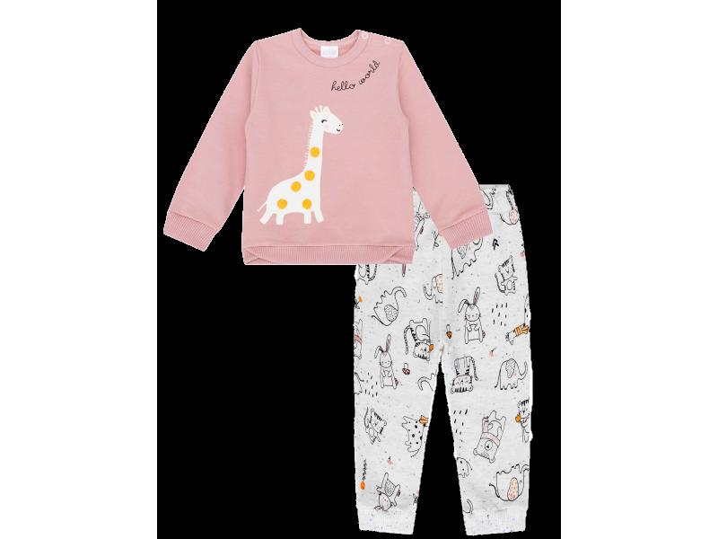 Conjunto Calça e Casaco - Dona Girafa - Kukiê