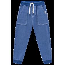 Calça Jogger em Malha Denim - Jeans Azul - LucBoo