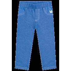 Legging em Malha Denim - Azul Jeans - Kukiê