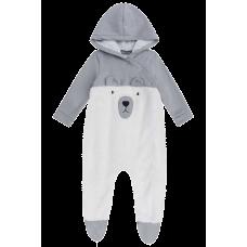 Macacão Urso Polar - Fleece - LucBoo