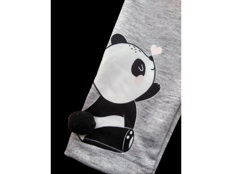 Legging em Thermoskin Mescla - Panda - Kukiê