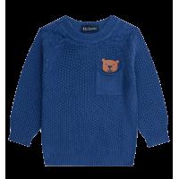 Blusão em Tricot - Azul Índigo - LucBoo