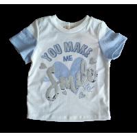 T-shirt Blue Smile - Petit Cherie