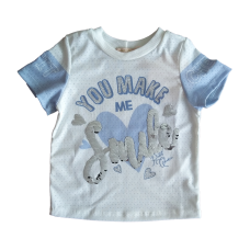 T-shirt Blue Smile - Petit Cherie