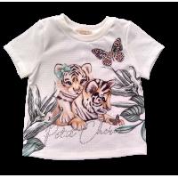 T-shirt Tigrinhos - Petit Cherie