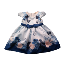 Vestido Rodado Romantic Blue - Petit Cherie
