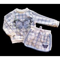 Conjunto Blue Butterfly - Petit Cherie