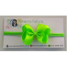 Laço Boutique Verde Neon - Faixa