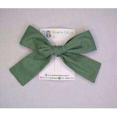 Laço Clássico Verde - Algodão