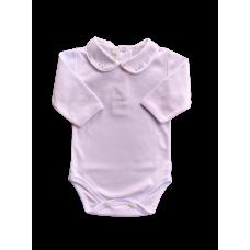 Body Gola com Swarovski - Branco - Petit Mouton