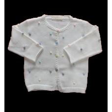 Casaco Poá Candy - Off White