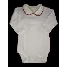 Body Gola com Swarovski - Vermelho - Petit Mouton