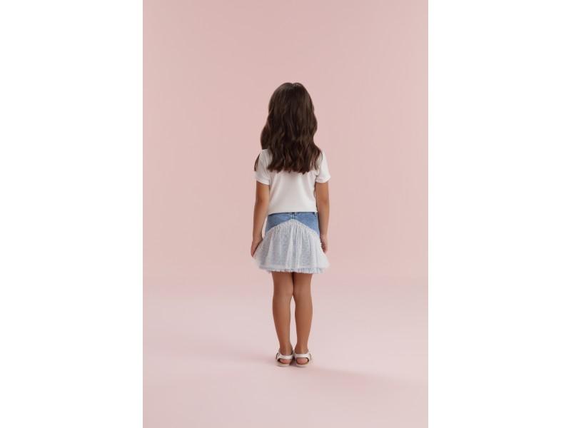 Saia Field Of Dreams - Jeans - Petit Cherie