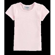 Blusa Delicadinha - Cotton Rosa - Kukiê