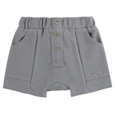 Short Saruel Cotton Cinza - LucBoo