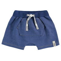 Short Saruel Malha Denim - Azul Jeans - LucBoo