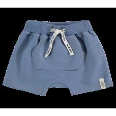 Short Saruel Malha Denim - Jeans Claro - LucBoo