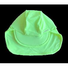 Boné Bebê Proteção Amarelo Lima - Cia do Broto