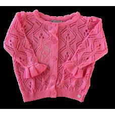 Cardigan Lontra Baby - Pink - Mini Lady