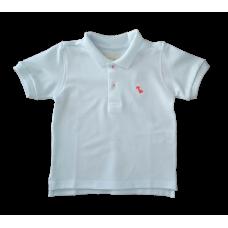 Camisa Polo Branca - Dudes