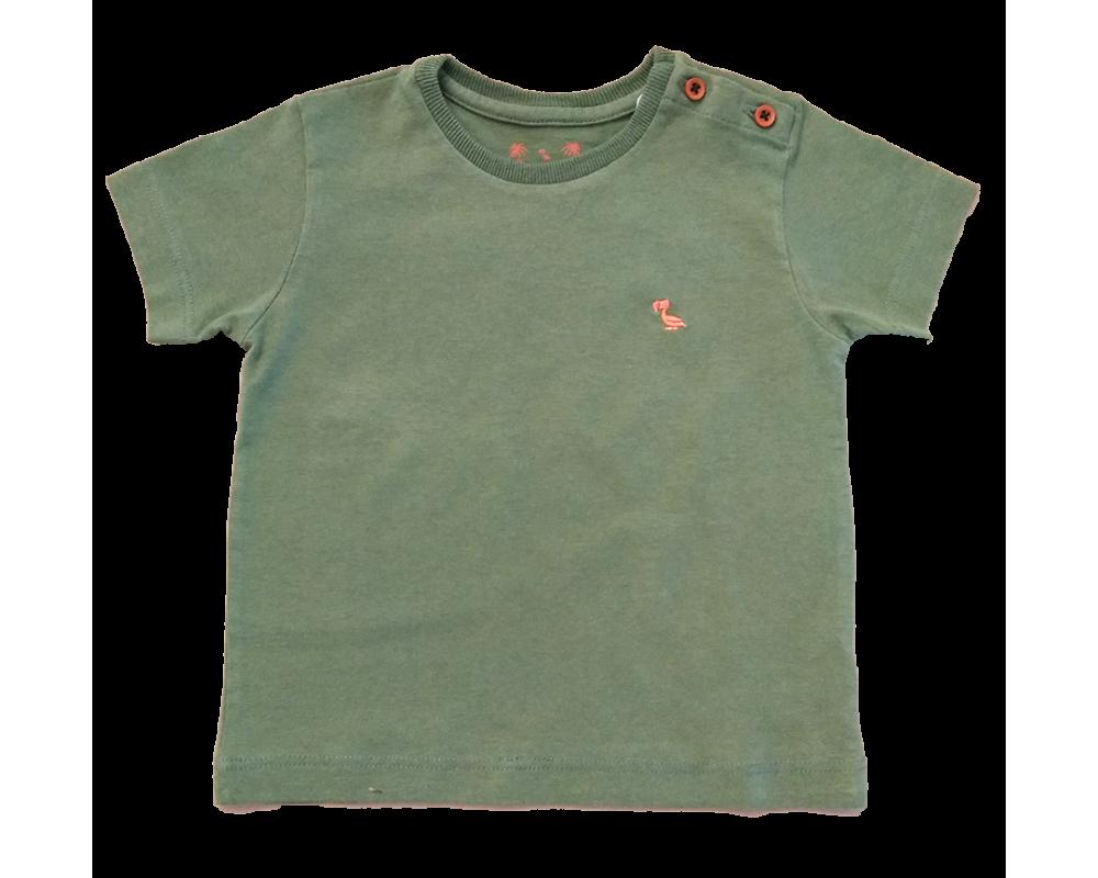 T-shirt Básica Verde - Dudes