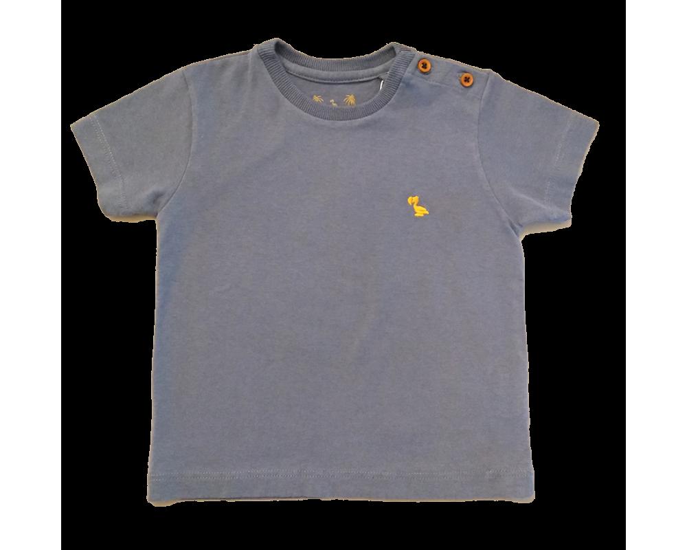 T-shirt Básica Azul Sereno - Dudes