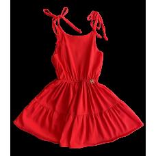Vestido Happy Time Vermelho - Mon Sucré