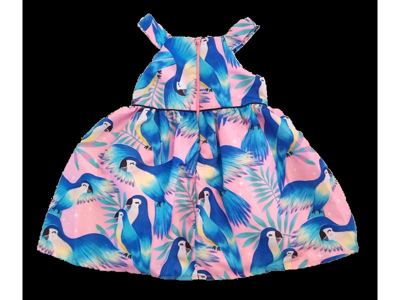 Vestido Tropical Birds - Mon Sucré