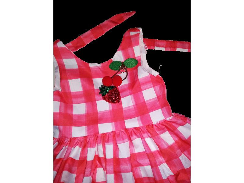 Vestido Happy Time Xadrez - Mon Sucré