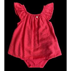 Body Vestido Vermelho - Nini Bambini