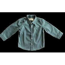 Camisa Xadrez Verde e Marinho - Dudes