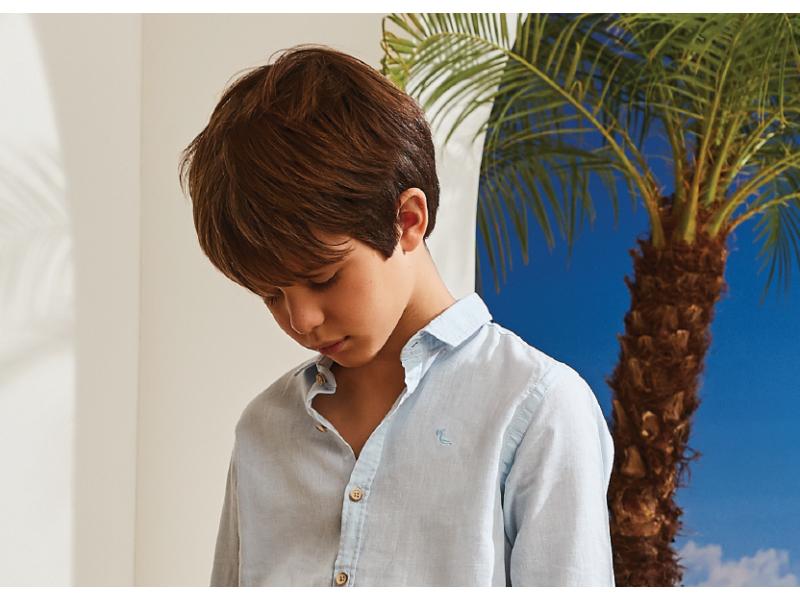 Camisa Linho Azul - Dudes