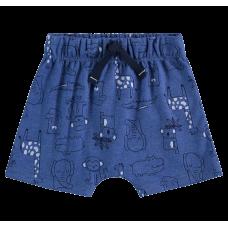 Short Saruel Safari Azul - LucBoo