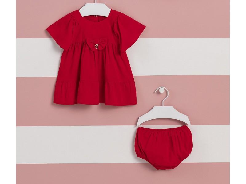 Vestido Happy Time Vermelho - com calcinha - Mon Sucré