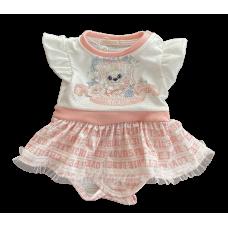 Body Vestido Romantic Baby - Petit Cherie