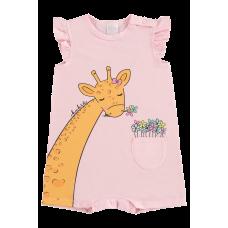 Macacão Curto Girafa - Kukiê