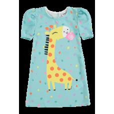Vestido Girafinha Chiclete - Kukiê